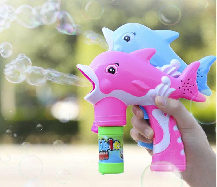 Пистолет для мыльных пузырей дельфин иглы для работы с бисером